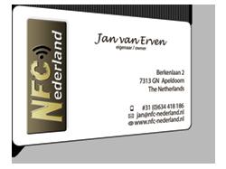 NFC-Visitekaartje