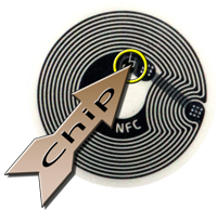 Chip in NFC-tag