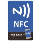 NFC-Sticker NTAG203 -86x54.mm.-
