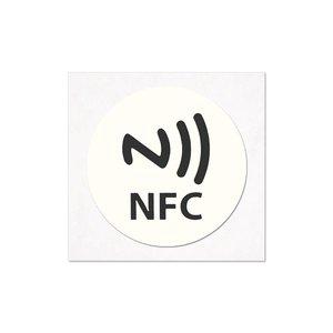 NFC-Sticker-Tag NTAG213 wit/logo