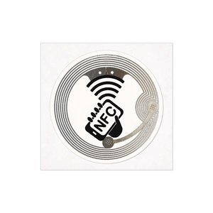 NFC-Sticker-Trans-Logo NTAG213 -38mm.-