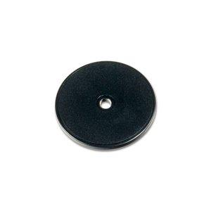 NFC ABS-kunststof tag. NTAG213. Zwart