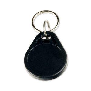 NFC-Sleutelhanger-Tag NTAG213 Zwart + ID