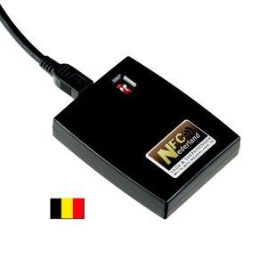 NFC ID-reader / keyboard emulator AZERTY (BE)