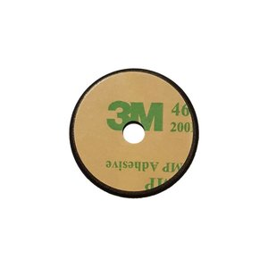 NFC Kunststof OnMetal-tag, NTAG213 Zwart ca. 30 mm. + ID print