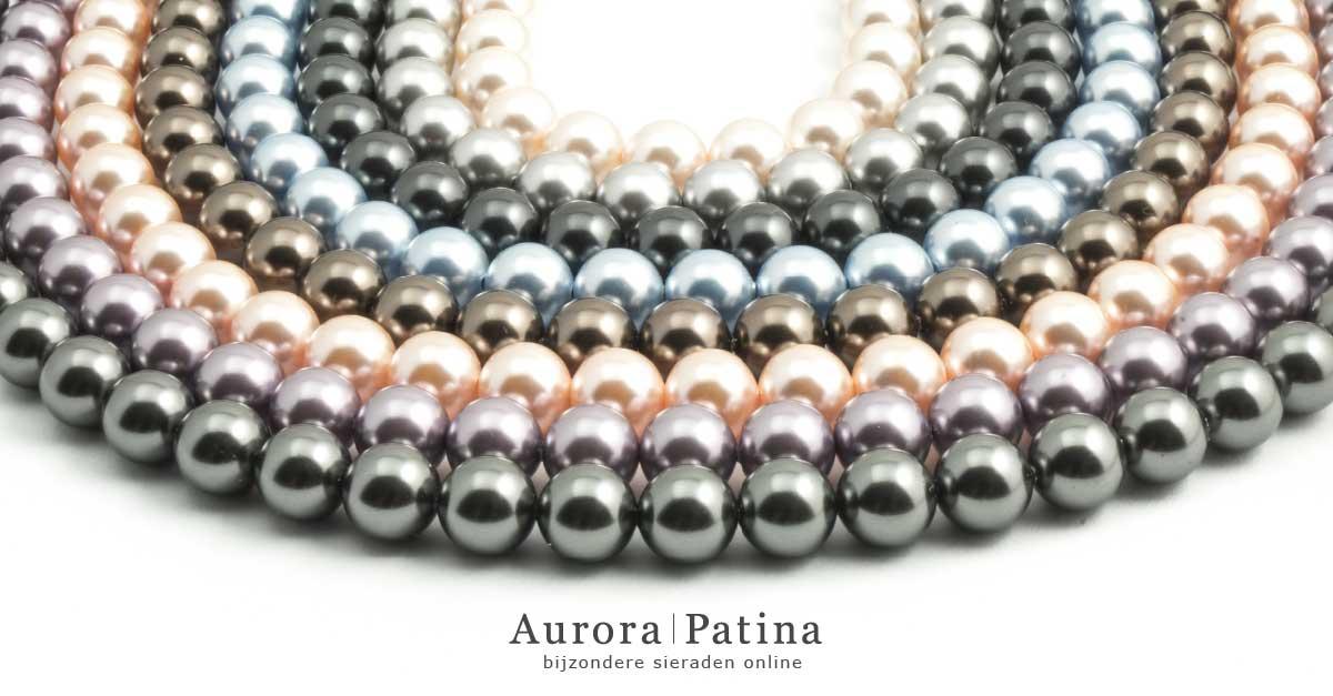 Aurora Patina parelkettingen van Krikor