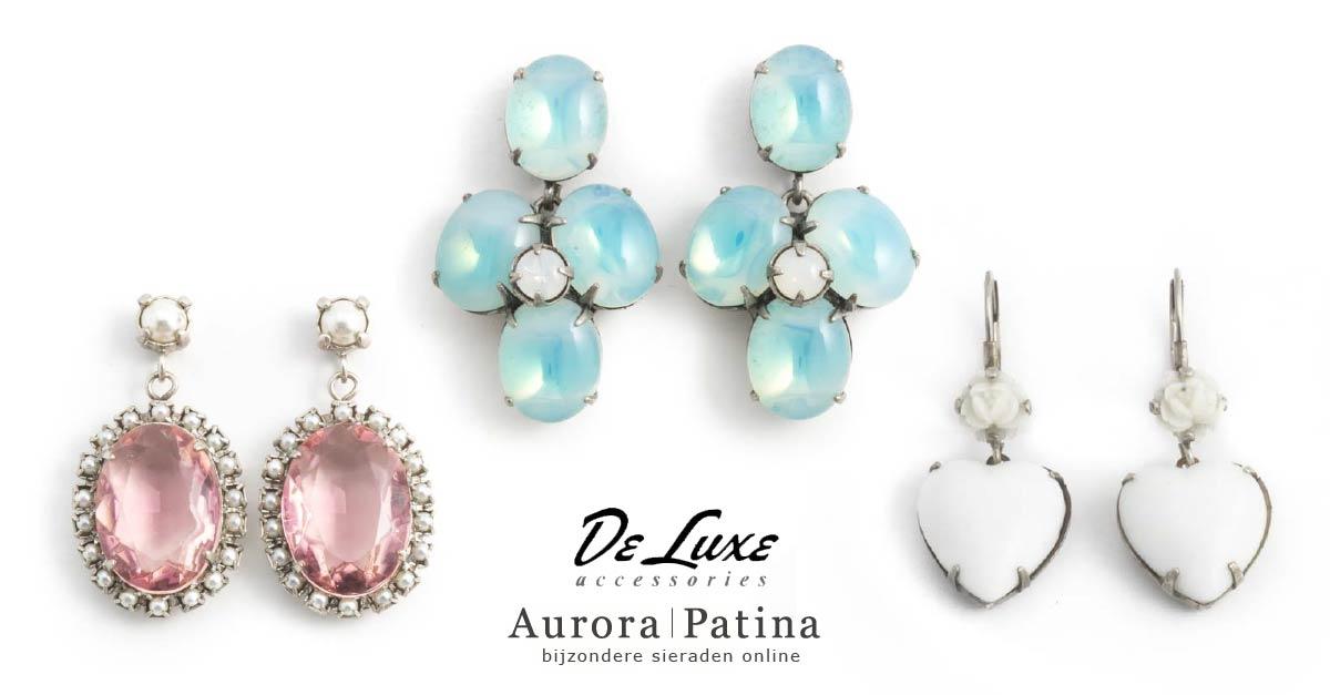 De Luxe oorbellen bij Aurora Patina