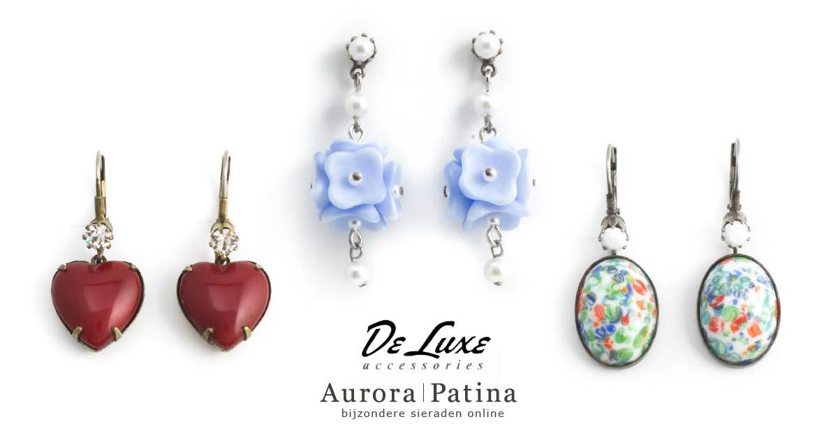 Nog meer oorbellen van De Luxe bij Aurora Patina