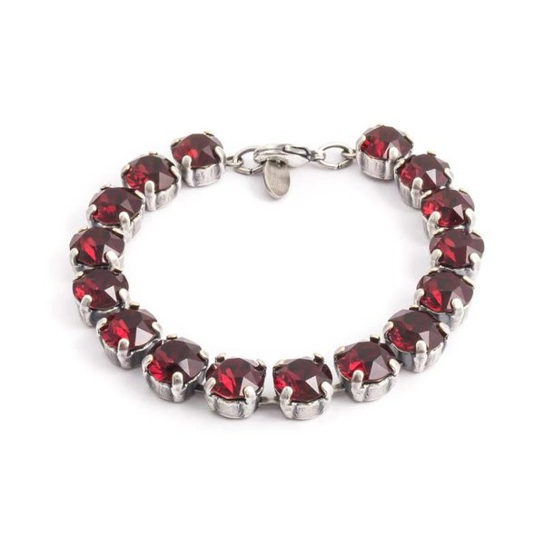 Robijn rode armband
