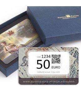 Aurora Patina Cadeaubon 50 euro