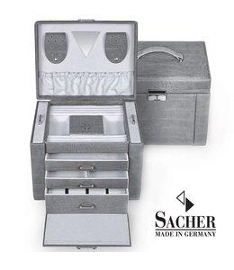 Sacher Juwelenkoffer Maxima grijs