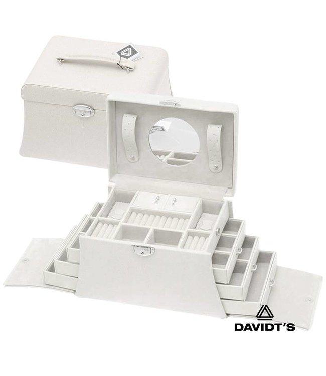 Davidt's Sieradenkoffer in wit