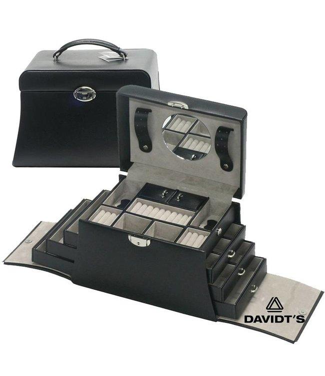 Davidt's Sieradenkoffer in zwart