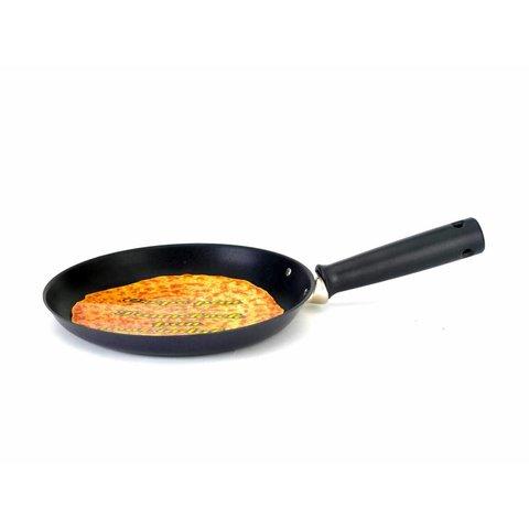 Pannenkoek / Crêpe pan  Ø 25 cm zwart met antikleeflaag