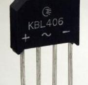 Gelijkrichter 600V 4A