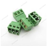 Printconnector with screw terminal 3 pin