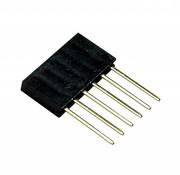 Arduino stackable header 6 voudig