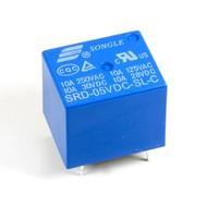Circuitboard relay 5V 10A