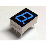 7-segment display Blue