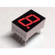 7-segment display Red, CC