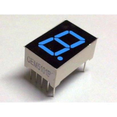 7-segmeny display Blue