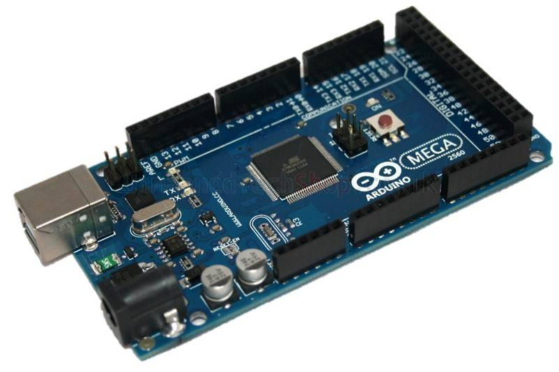 Arduino mega 2560 with usb cable and shielding bag for Mega comble