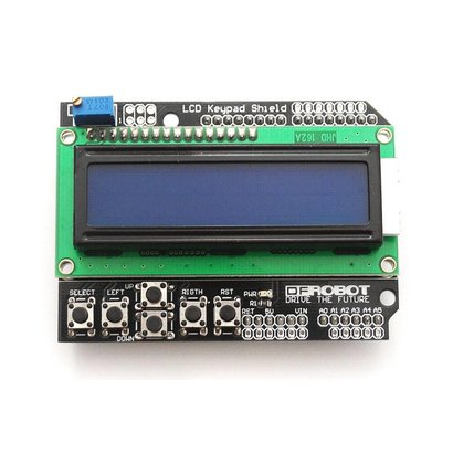 LCD Shield 2 x 16 Characters