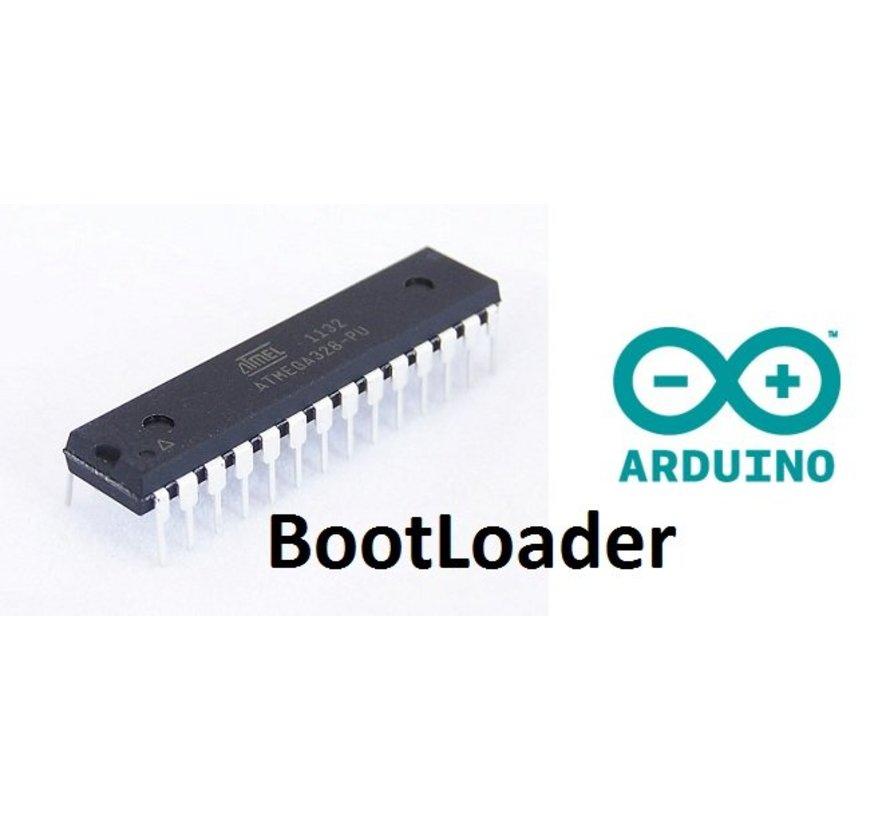 ATMEGA328P voorgeprogrammeerd met de Arduino Uno R3 Bootloader