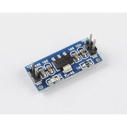 Micro Step Down Module, 3,3 Volt Breadboard Module