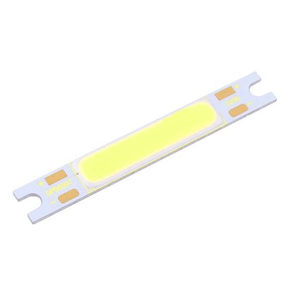 COB LED 3 Watt Short Cool White, Extremly Bright