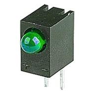 LED Groen 3mm Met Houder