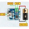 Li-Ion, LiPo USB Charging Module, 1000mA