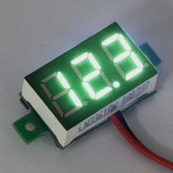Mini Volt Meter Green 0.36""