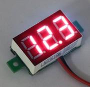 """Mini Volt Meter Red 0.36"""""""