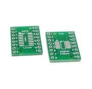 SMT Breakout PCB voor SOIC-16 of TSSOP-16
