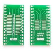 SMT Breakout PCB voor SOIC-28 of TSSOP-28