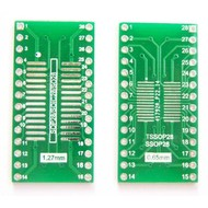 SMT Breakout PCB for SOIC-28 of TSSOP-28
