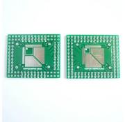 SMT Breakout PCB for QFP / TQFP / LQFP / of SSOP-32