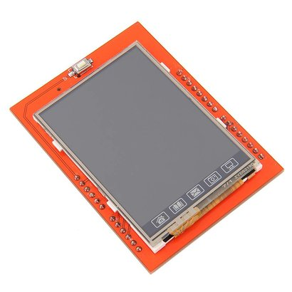 "2.4"" Touch Screen LCD Shield"