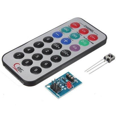 HX1838 NEC Arduino Infrared Remote Controll. Including Assesoires