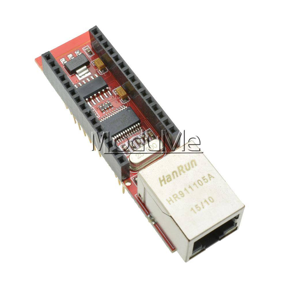 Updated Arduino ENC28J60 Ethernet library available