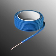 HELUKABEL Project Wire H05V-U 2.3 x 0.5mm², Solid Core, Flame Retardant - Blue