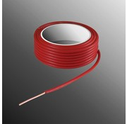 HELUKABEL Project Draad H05V-U 2,5 x 0,5mm², Massieve Kern, Brand Vertragend - Rood