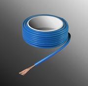 HELUKABEL Project Wire H05V-K 2.5 x 0.5mm², Stranded Core, Flame Retardant - Blue