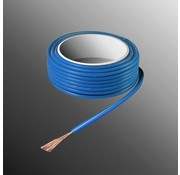 HELUKABEL Project Wire H05V-K 2.5 x 0.5mm², Stranded Core, Flame Retardant - Blue