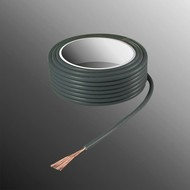 HELUKABEL Project Wire H05V-K 2.5 x 0.5mm², Stranded Core, Flame Retardant - Grey