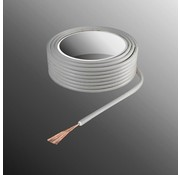 HELUKABEL Project Wire H05V-K 2.5 x 0.5mm², Stranded Core, Flame Retardant - White