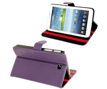 Paarse 3-standen tablet hoes voor je Galaxy Tab 3 (7 inch)