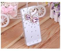 Romantiek bling hoesje voor HTC One mini