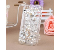 Romantiek bling telefoon hoesje voor je HTC One (M7)
